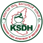 The logo for Karnataka State Department of Horticulture