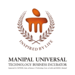 The logo for Manipal University TBI