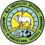 The logo for the University of Agriculture Sciences, Dharwad