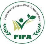 The logo for Foundation of Indian FPOs & Aggregators